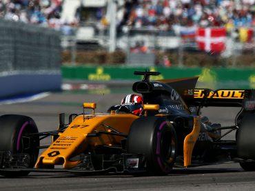 Platz acht für Renault Pilot Hülkenberg