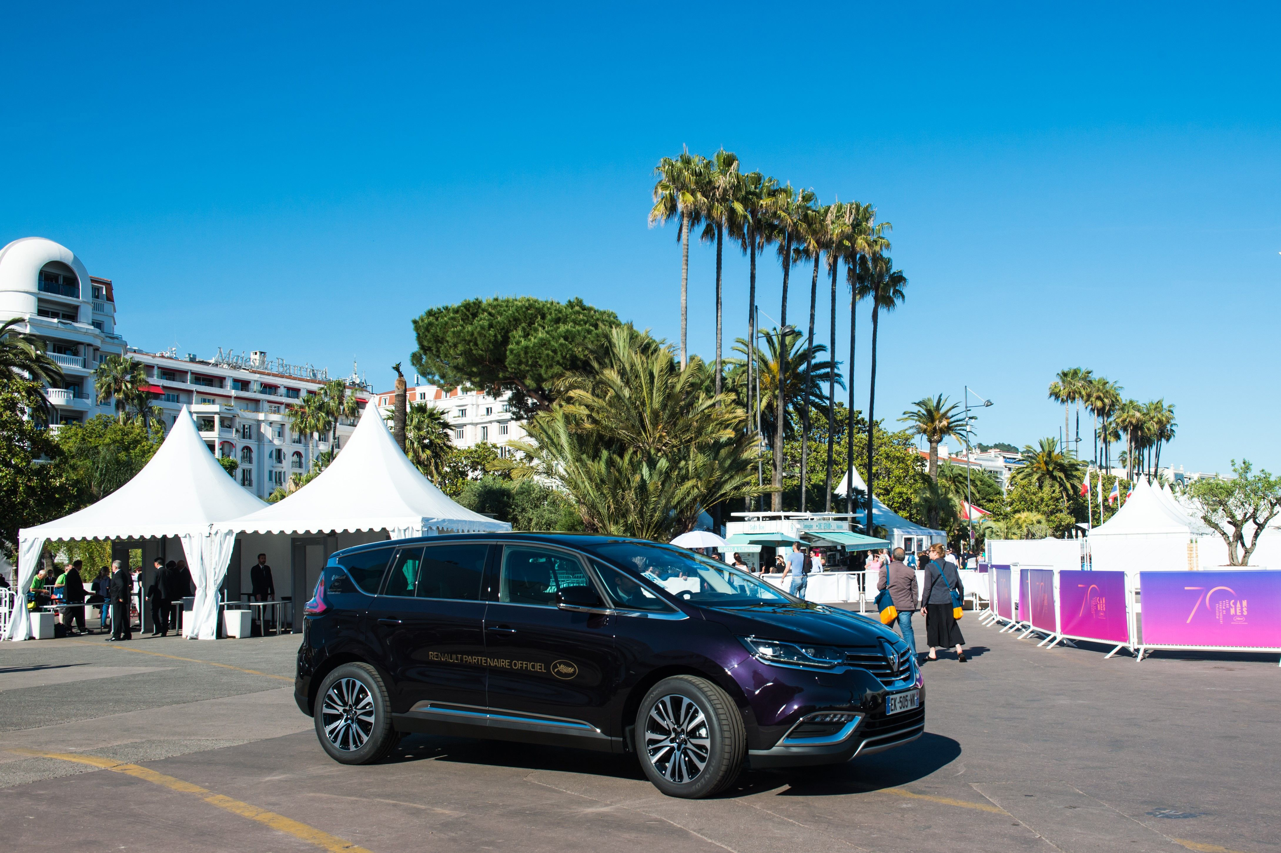 Espace, Renault, Filmfestspiele Cannes, 2017