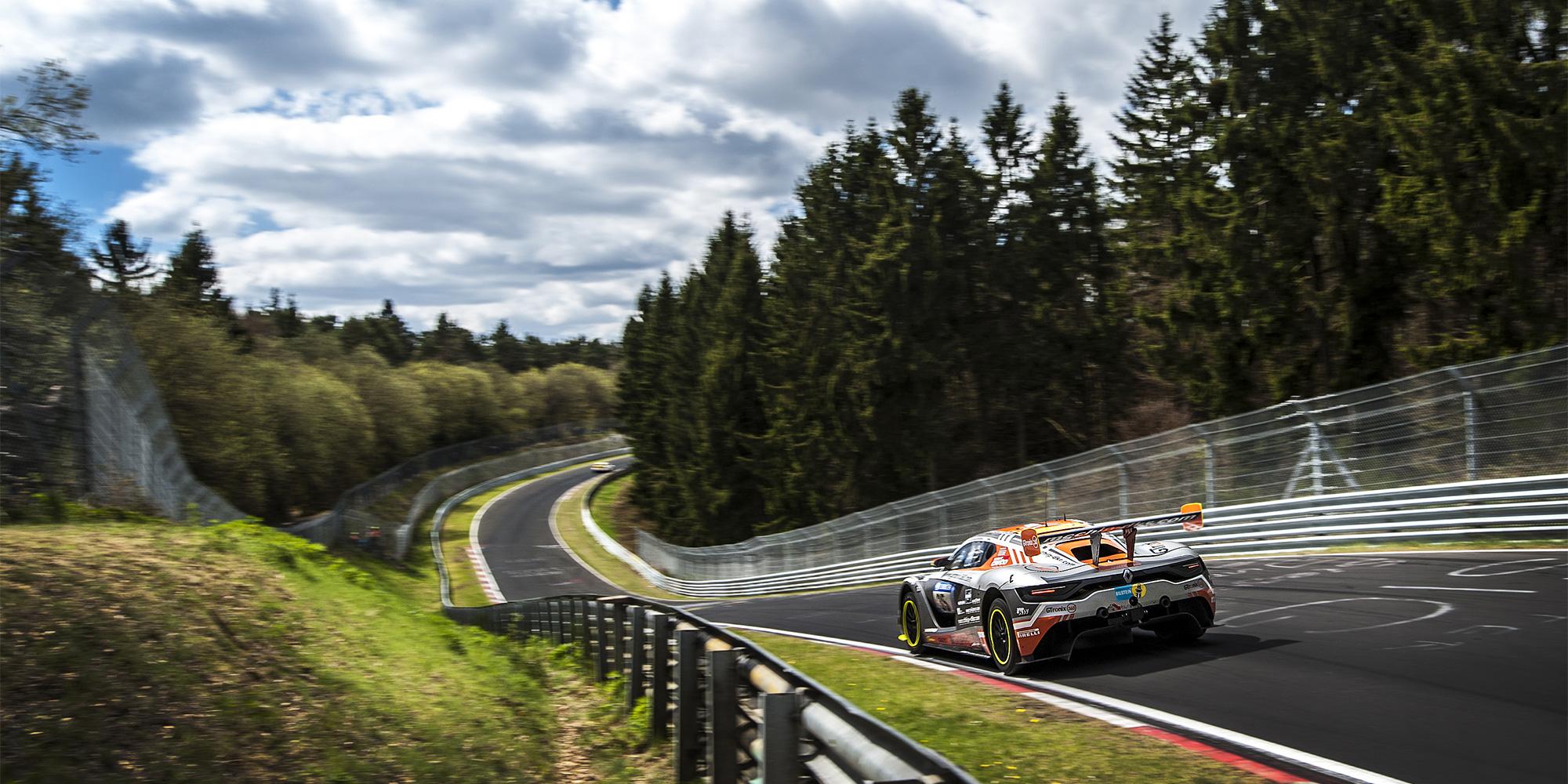 R.S. 01 bereit für die 24-Stunden-Nürburgring