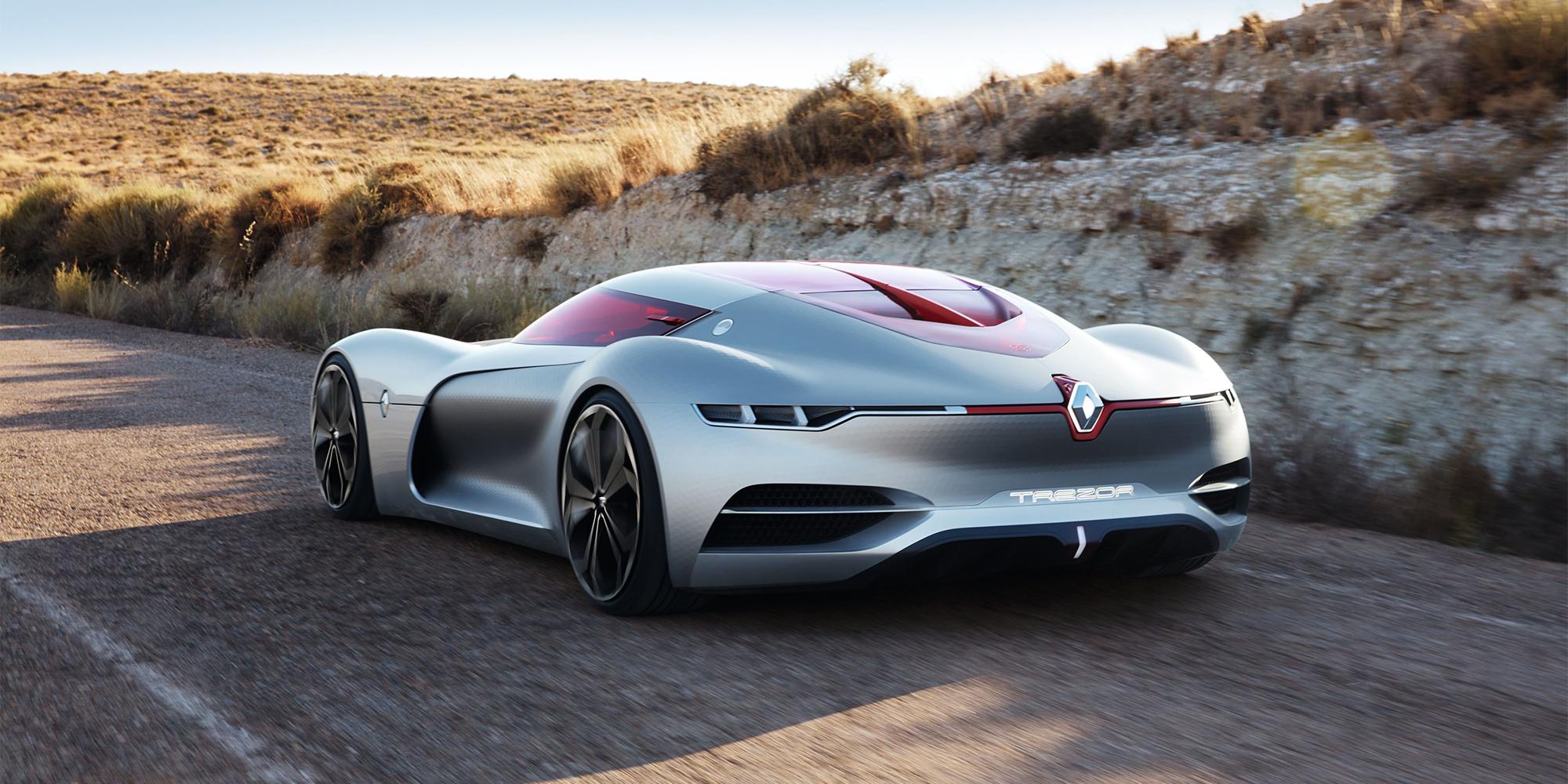 Elektro-Studie im Fahrbericht: Renault Trezor begeistert Tester