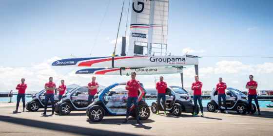 Americas Cup: Team France setzt auf Renault TWIZY
