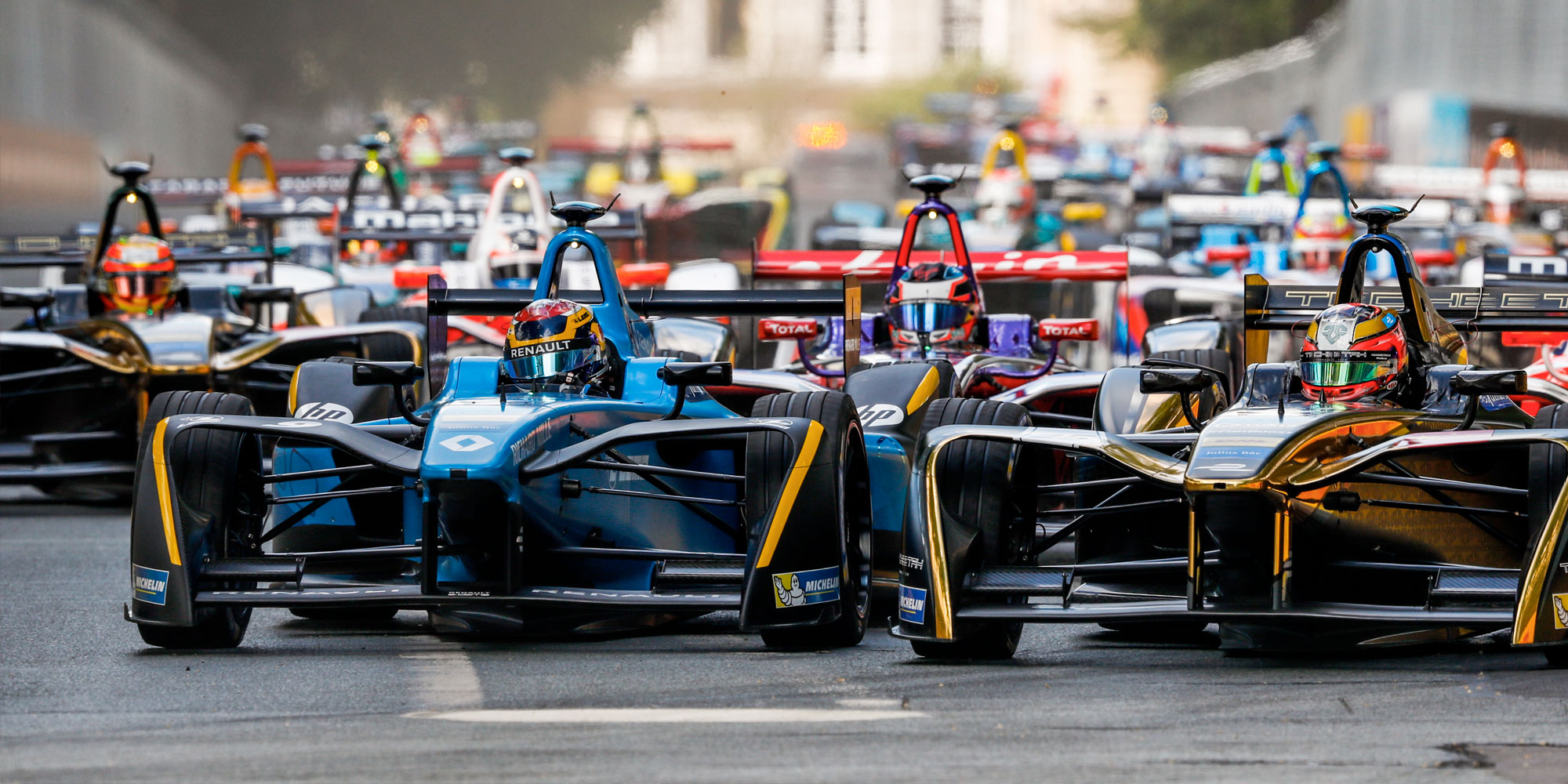 Renault e.dams in der Formel E auf Titelkurs