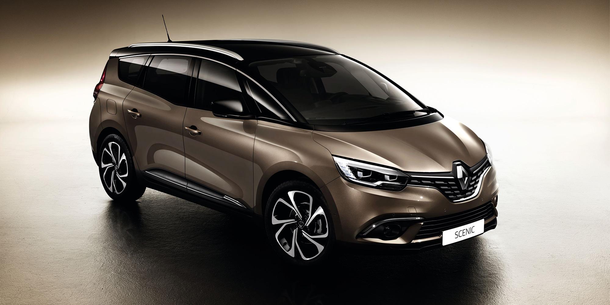 """Renault Grand Scénic ist """"Firmenauto des Jahres 2017"""""""