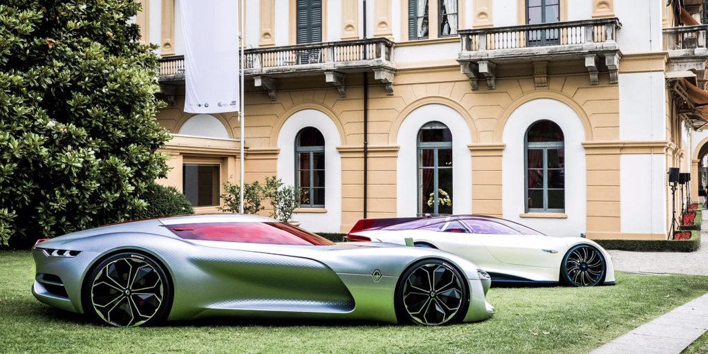 Concept Car, Trezor, Renault, Concorso d'Eleganza Villa d'Este, 2017