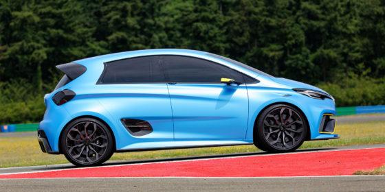 Renault ZOE e-Sport Concept im Rennstrecken-Test