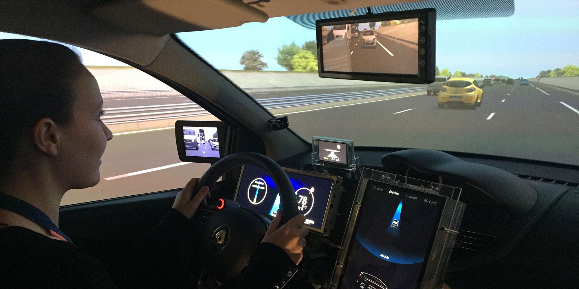 Autonome Fahrzeuge laufen bei Renault auf Hochtouren