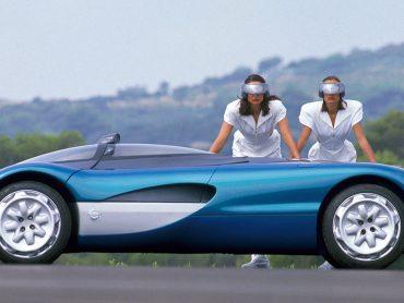 Concept Car Laguna Roadster von 1990 – pur, flach, offen