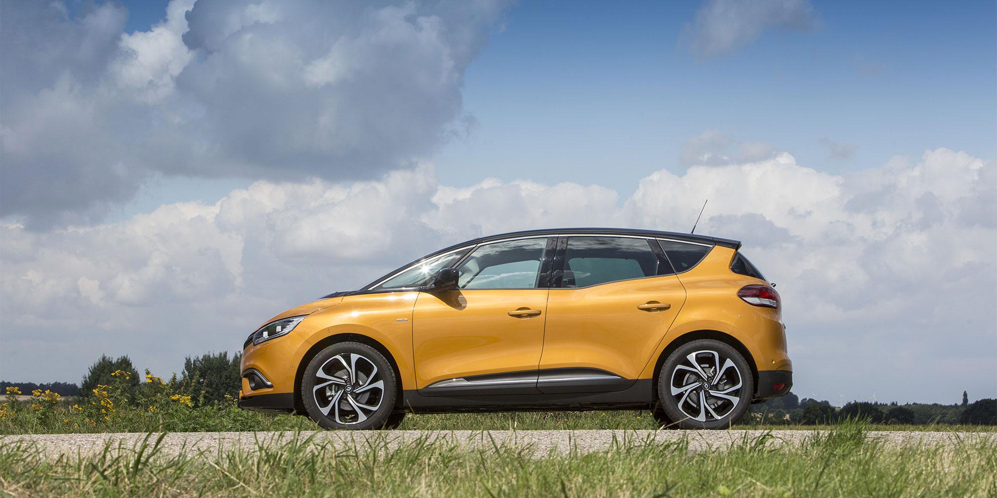 Scénic, Kompaktvan, Renault, 2016