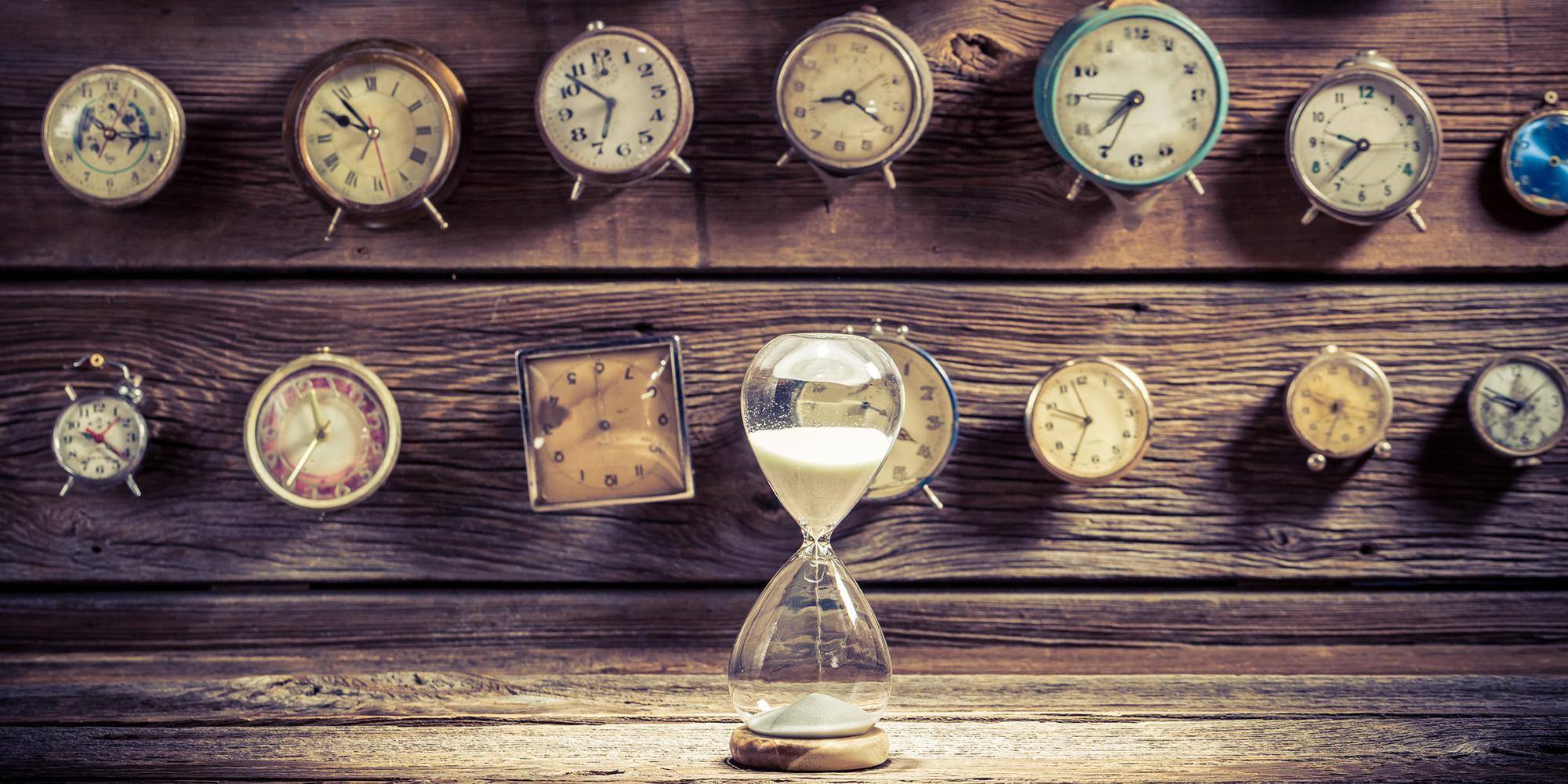 Das Mysterium, die Zeit zu erfassen