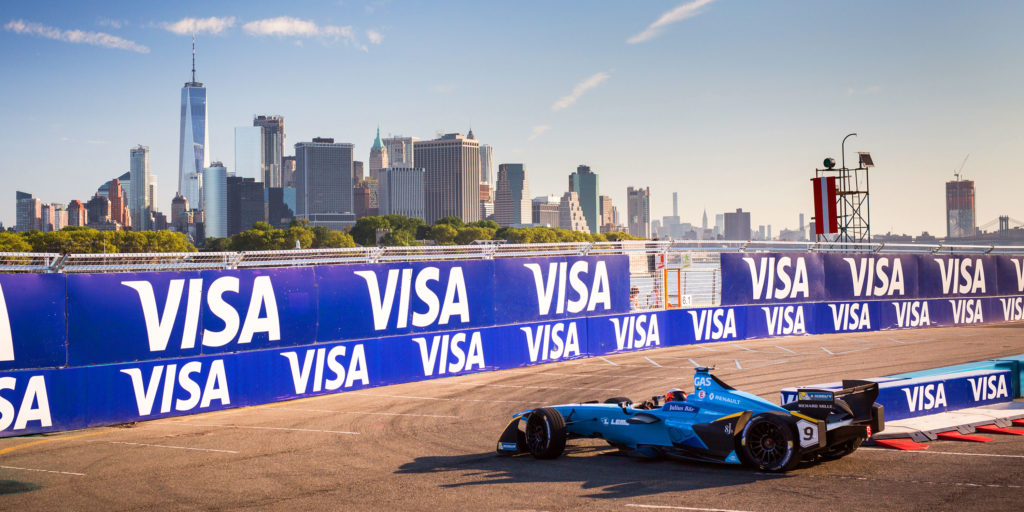 Renault e.dams in New York