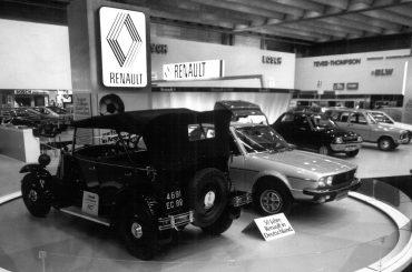 Blick in den Rückspiegel – Renault & die IAA  in den vergangenen drei Jahrzehnten
