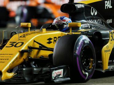 "Renault F1 in Singapur: Palmer punktet, ""Hulk"" hat Pech"