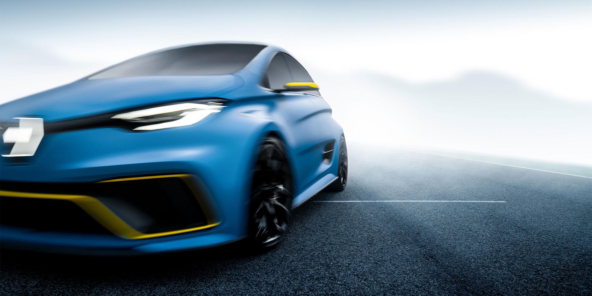 ZOE e-Sport Concept: Wilde Drifts auf der Rennstrecke