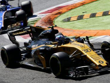 "Monza: Renault Sport F1 im ""Tempel des Tempos"""