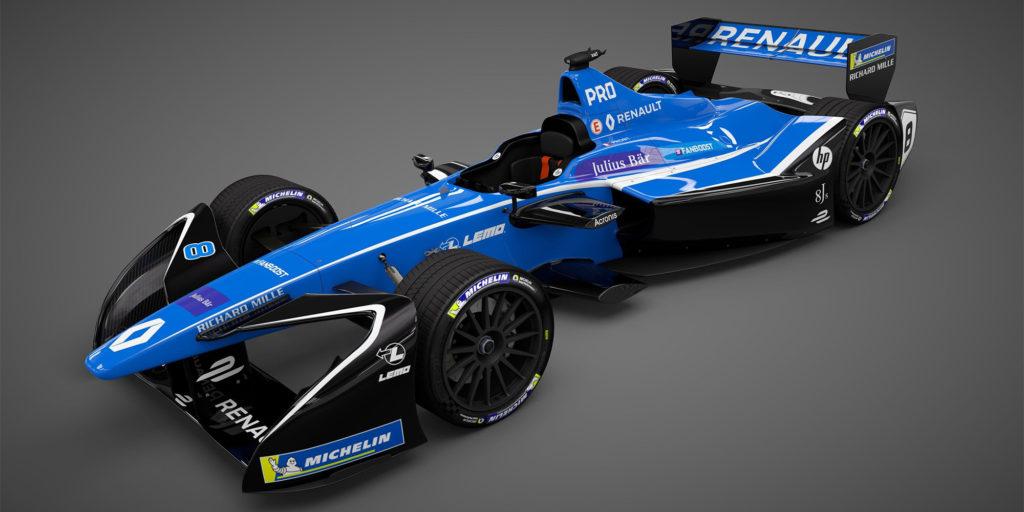 Formel E-Saison 2017/2018: Renault greift mit dem Z.E.17 an