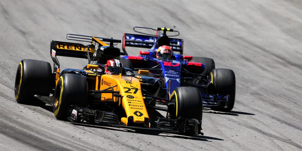 F1 in Brasilien: Renault punktet mit Zuverlässigkeit