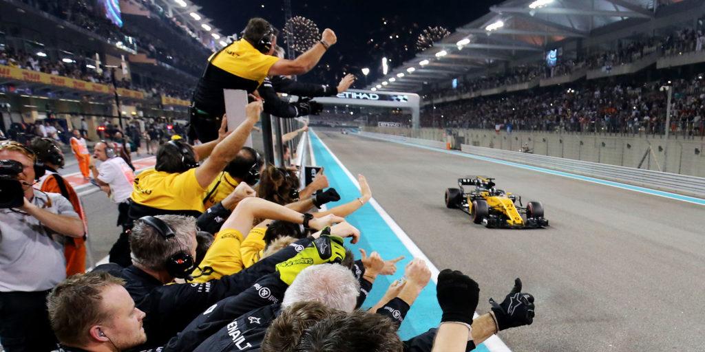 Renault Sport F1 und Nico Hülkenberg mit starkem Finale