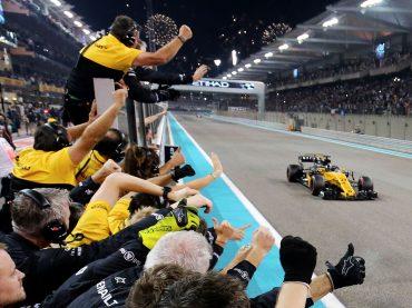 Endspurt in Abu Dhabi: Renault Sport F1 auf Platz sechs