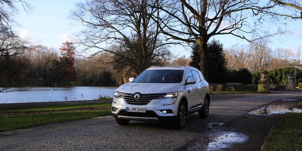Renault Koleos - Designer SUV made in France Markant, sicher und mit viel französischem Flair