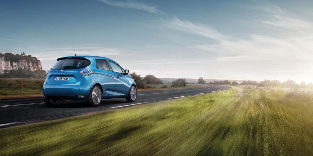 """Wertstabilstes E-Auto: ZOE ist """"Restwertriese 2021"""""""
