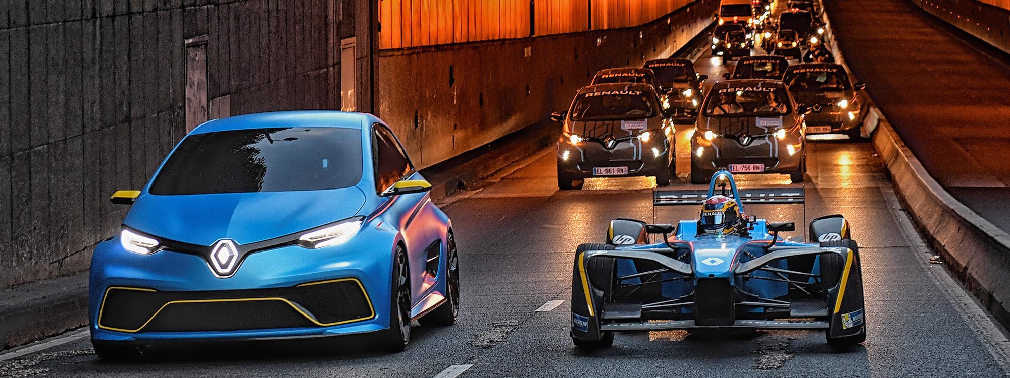 Renault ZOE e-Sport Concept & Renault e.dams