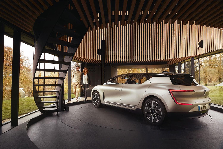 Renault testet autonomes Fahren mit Demo Car SYMBIOZ