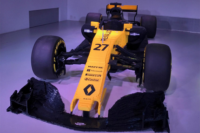 F1 zum Anfassen: L'Atelier Renault zeigt R.S.17 aus Lego