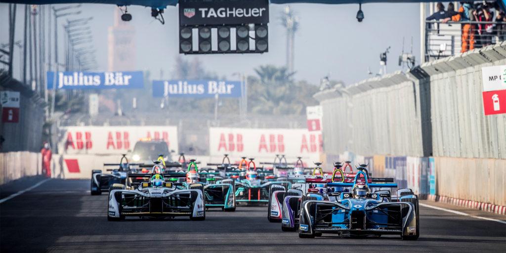 Formel E in Marrakesch