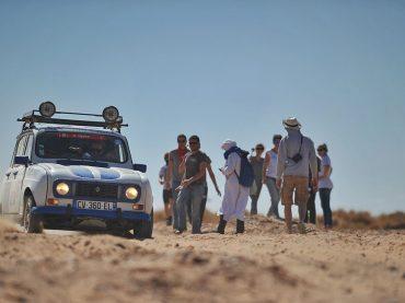 Raid 4L Trophy™: Mit dem R4 durch die Wüste