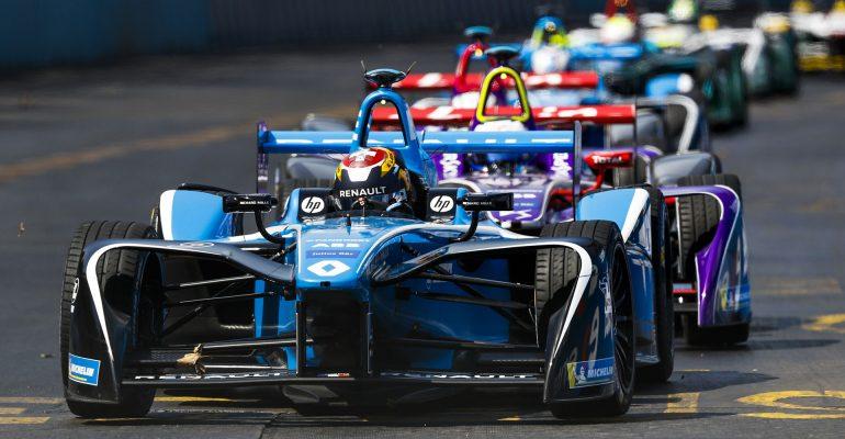 Sieg für Renault F.E.-Kundenteam Techeetah