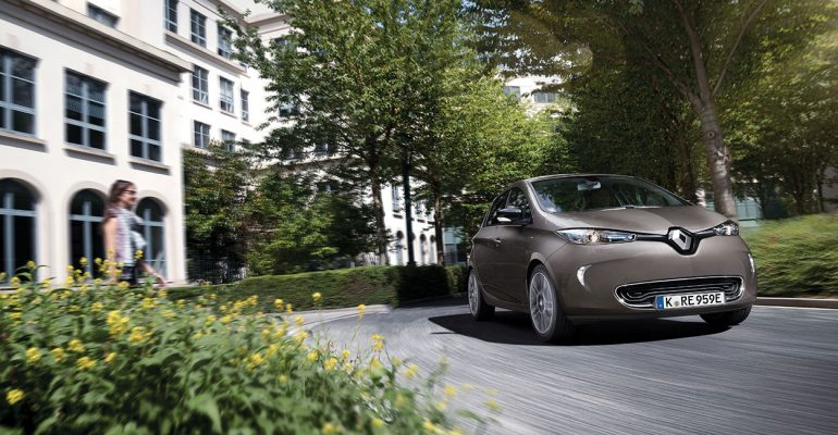 Renault ZOE erzielt Bestnote im ADAC EcoTest