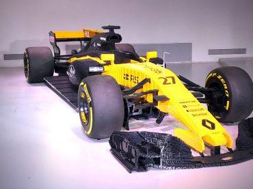 Formel 1-Bausatz: R.S.17 aus Lego im L'Atelier Renault