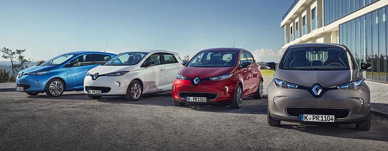 120 Jahre Renault ZOE