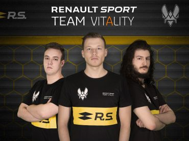 Neues Renault Sport Team Vitality startet bei eSports–Meisterschaften