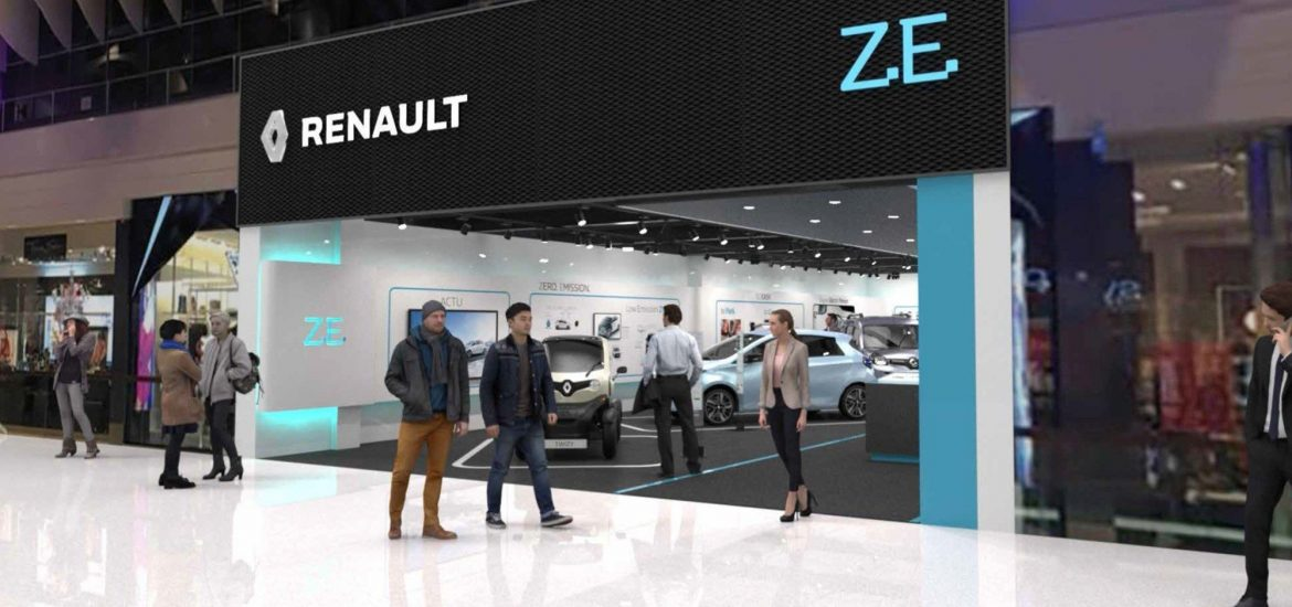 Neues Renault Electric Vehicle Experience Center