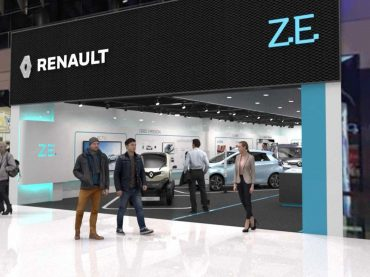 Renault eröffnet Concept Store für Elektrofahrzeuge in Stockholm