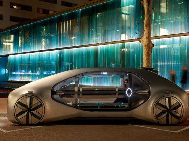 Renault Studie EZ–GO: Robo-Taxi für die City