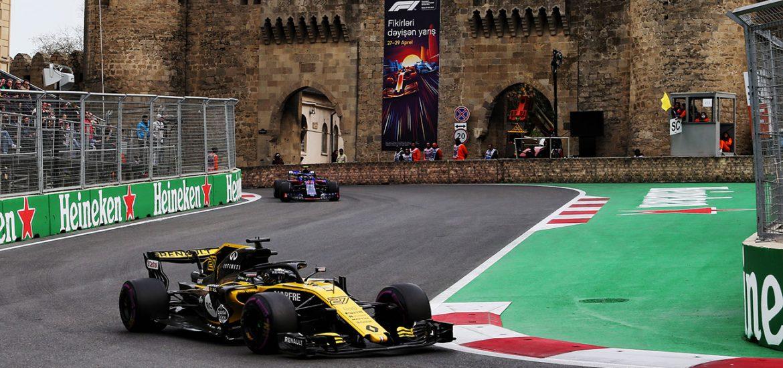 Formel 1 bestes Saisonergebnis fuer Renault