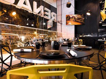 Das neue F1 Restaurant im L'Atelier Renault