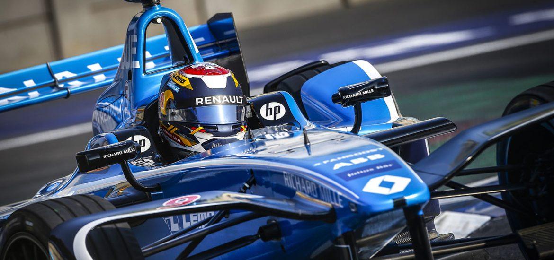 Sébastien Buemi fährt zum 20. Mal in der Formel E aufs Podest