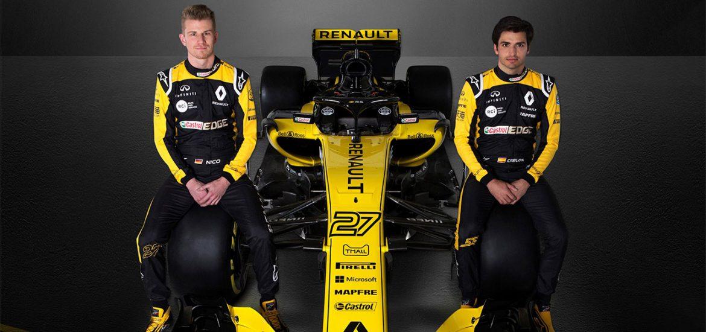 Renault Sport F1 schickt starke Fahrerpaarung ins Rennen