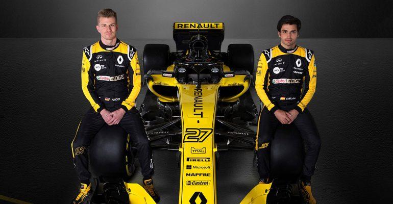 Hülkenberg und Sainz: Das flotte Formel 1-Duo von Renault Sport F1