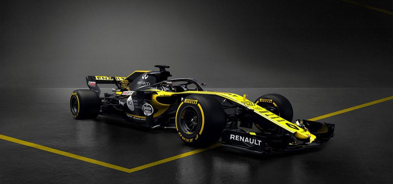 Mit dem neu entwickelten R.S.18 startet das Renault Sport Formel 1-Team 2018 in der Königsklasse