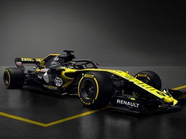 R.S.18-Weltpremiere: Renault präsentiert neuen Formel 1-Boliden