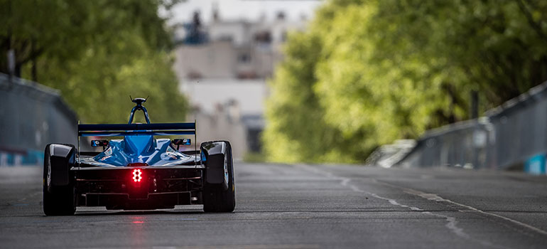 Renault Formel E-Pilot Sébastien Buemi wurde Fuenfter
