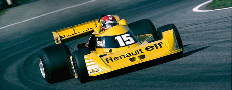 Entwicklung der Marke Renault im Motorsport