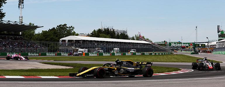 Max Verstappen wurde dank Renault Power dritter