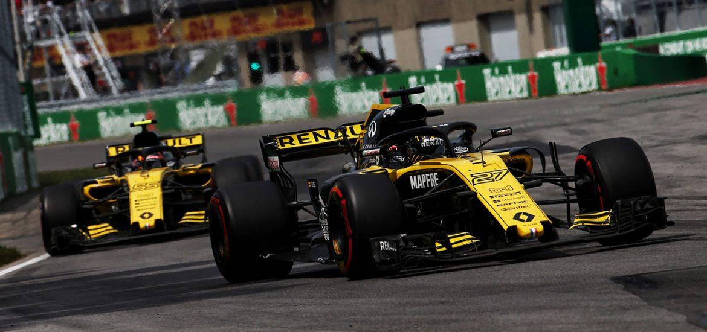 Sport F1 Max Verstappen wurde dank Renault Power dritter