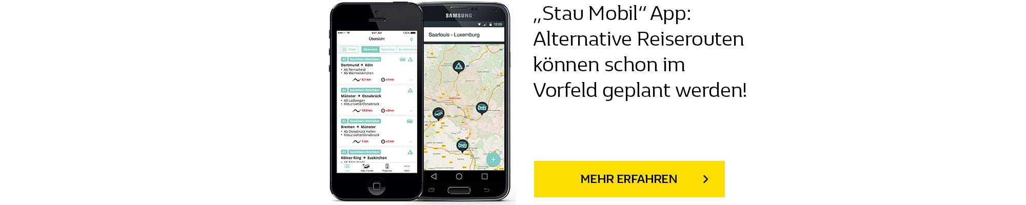 Stau Mobil App