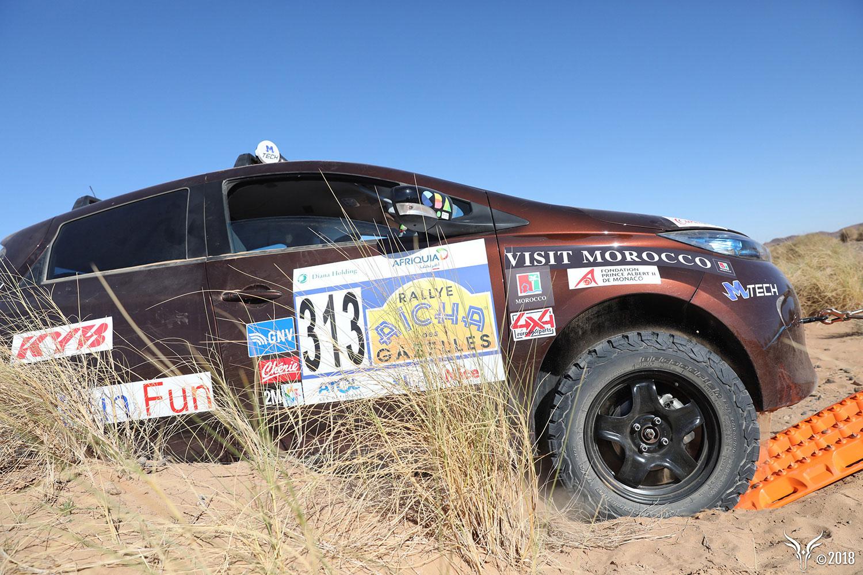 Rallye-Einsatz: Mit dem ZOE durch die Wüste